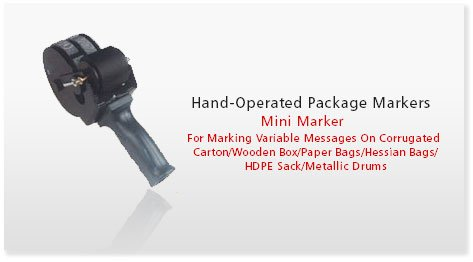 Hand Operated Package Markers - SRIPL