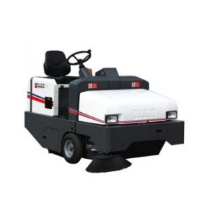 Dulevo 100 EH & 100 DK Industrial floor sweeping and cleaning machine From Sripl