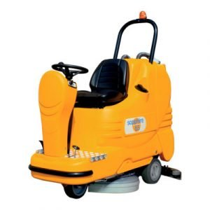 Sapphire 65- Industrial floor cleaning and sweeping machine with scrubber