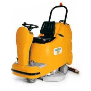 Sapphire 85 - Industrial floor cleaning and sweeping machine with scrubber